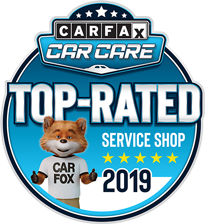 Top Rated Car Fax Badge